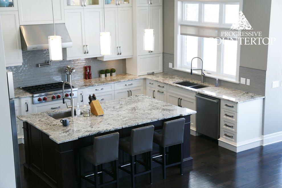 14_birds_eye_view_alaska_white_granite_kitchen - progressive