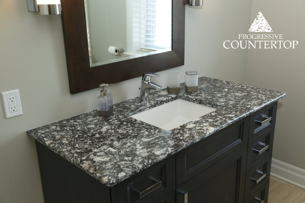 Braemar by cambria bathroom vanity with summit edge by for Bathroom decor london ontario