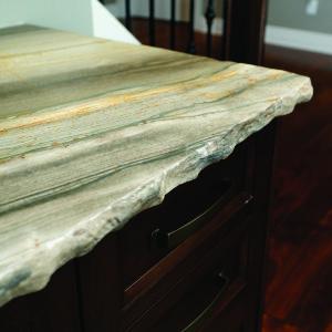 Chied Edge On A Progressive Countertop Granite Top