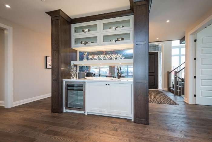 Dream Home London On 2015 - Servery or Butler's pantry - counter top by Progressive Countertop