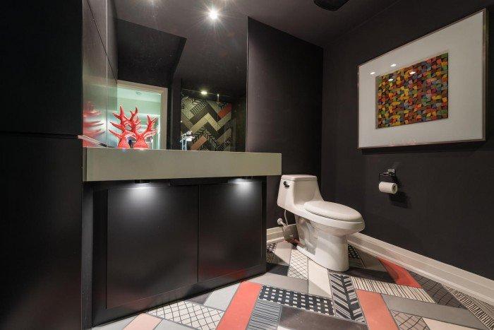 Dream Home London On 2015 - lower level bath - Cambria counter top by Progressive Countertop