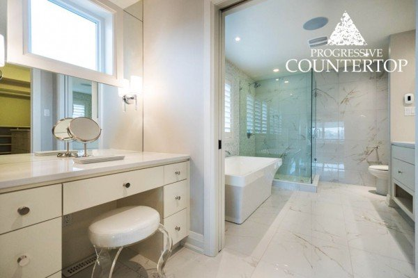Cambria other rooms progressive countertop for Bathroom decor london ontario
