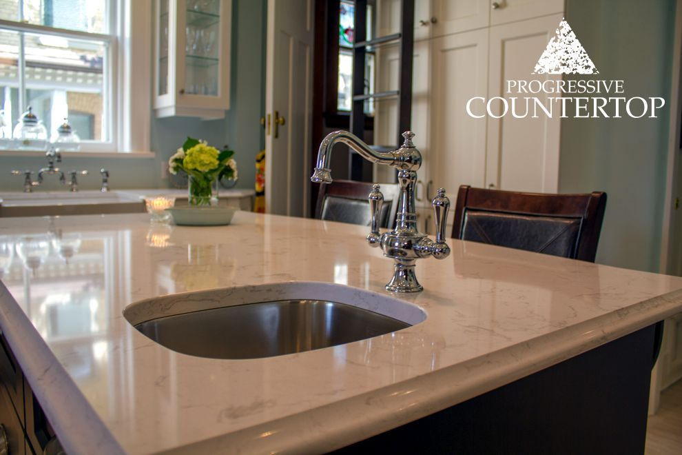 Cambria torquay quartz counter undermount kitchen sink for Kitchen design london