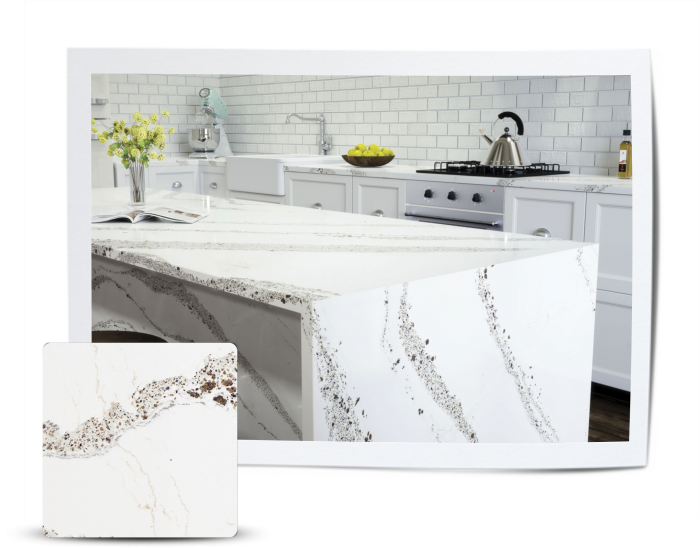 Feature Quartz Stone Countertop by Cambria - Annicca Stone Design