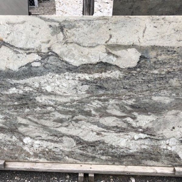 This granite is almost a painting in stone