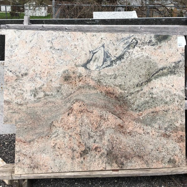 This granite is a painting on a stone