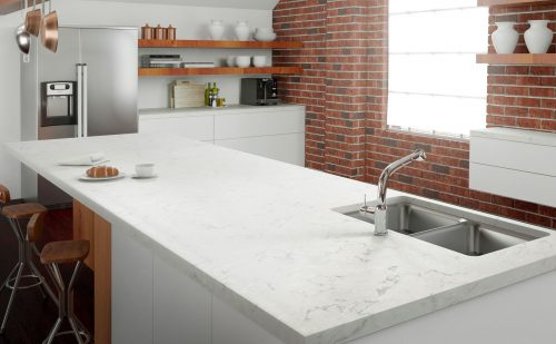 cambria swanbridge white quartz countertop