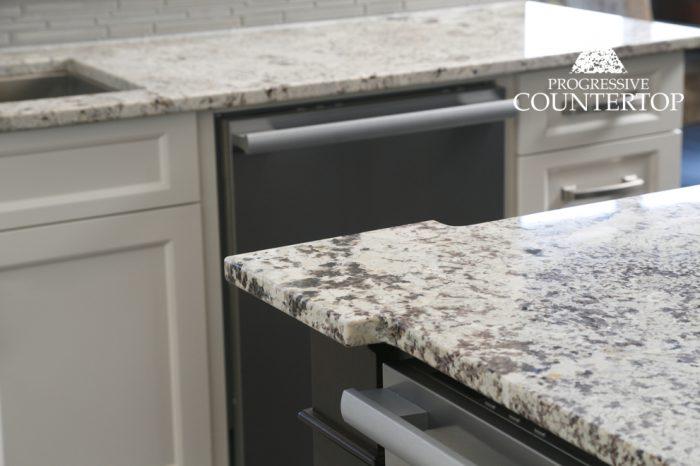 Alaska White Granite Kitchen Countertop Grey