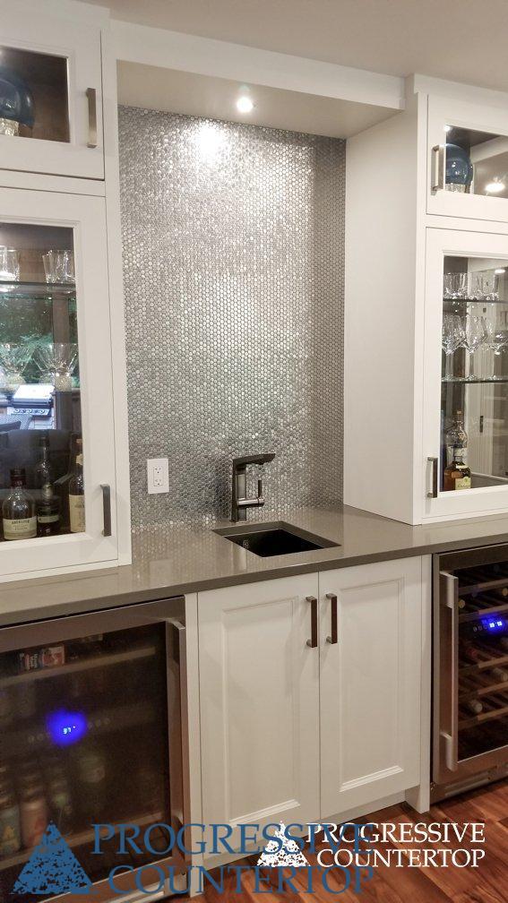 Cambria Kitchen Countertops - Devon by Cambria installed by Progressive Countertop